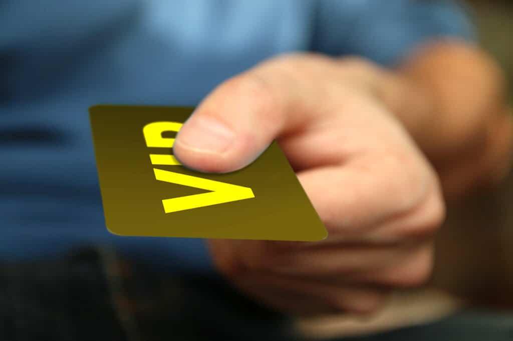 כרטיס VIP